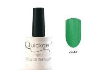 Quickgel No 808 – Mint Fresh Jelly Mini Βερνίκι νυχιών 7,5 ml