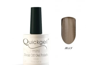 Quickgel No 811-Black-Candy Jelly Mini Βερνίκι νυχιών 7,5 ml