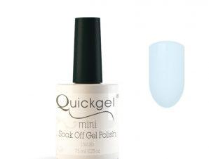 Quickgel No 207 – Ice Blue Mini – Βερνίκι 7,5 ml