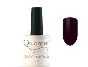 Quickgel No 81 – Plum Mini – Βερνίκι 7,5 ml